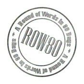 ROW 80 Logo - A Round of Words in 80 Days